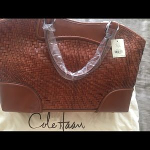 Cole Haan Genevieve Leather Tote